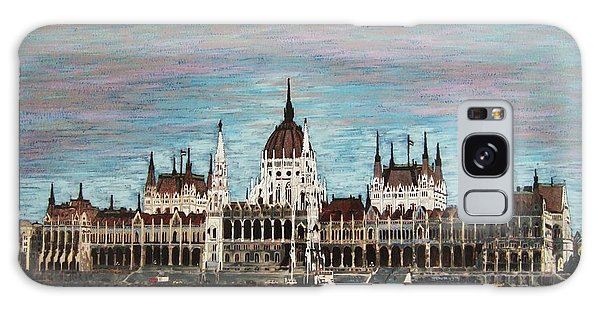 Budapest Parliament By Jasna Gopic Galaxy Case