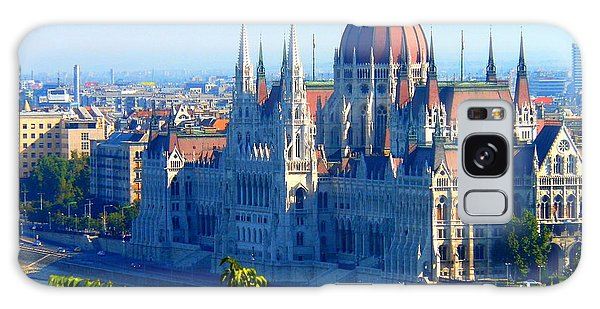 Budapest Parliament Galaxy Case by Kay Gilley