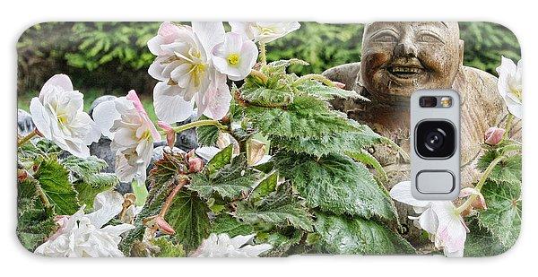Budda And Begonias Galaxy Case