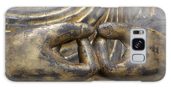 Buddha 3 Galaxy Case by Lynn Sprowl