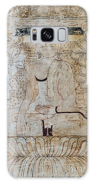 Buddha Fresco Galaxy Case
