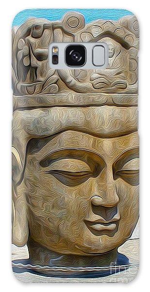 Buddha Galaxy Case by Gregory Dyer