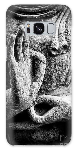 Buddha Hand Mudra Galaxy Case