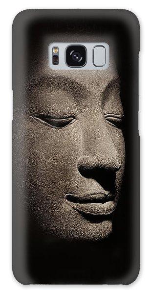 Buddha Galaxy Case - Buddha Head From The Early Ayutthaya Period by Siamese School