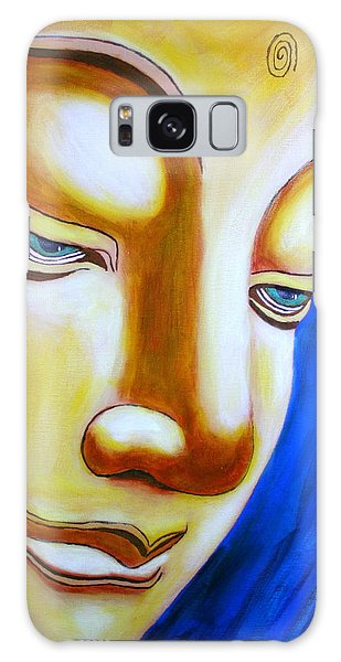 Buddha Head Gazing Art Galaxy Case
