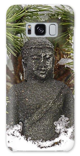 Buddha In The Snow Galaxy Case