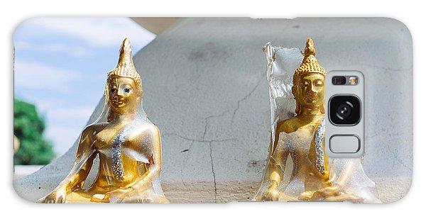 Buddha Karma Shell Galaxy Case by Dean Harte
