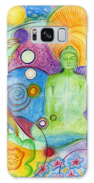 Buddha Of Infinite Possibilities Galaxy Case