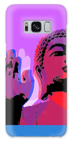 Buddha Pop Art - 4 Panels Galaxy Case