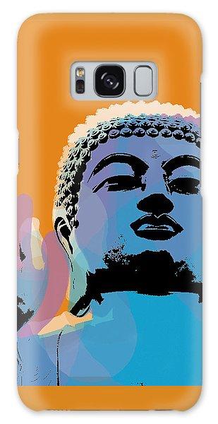 Buddha Pop Art - Warhol Style Galaxy Case by Jean luc Comperat