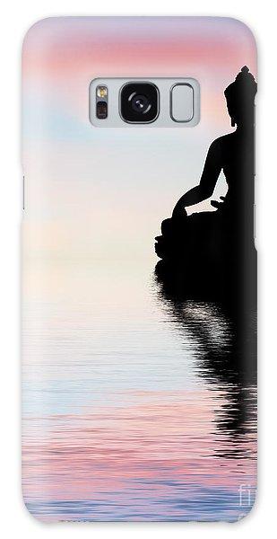 Buddha Galaxy Case - Buddha Reflection by Tim Gainey