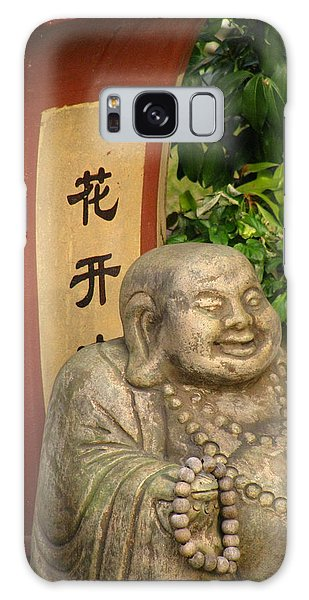 Buddha Statue In The Garden Galaxy Case