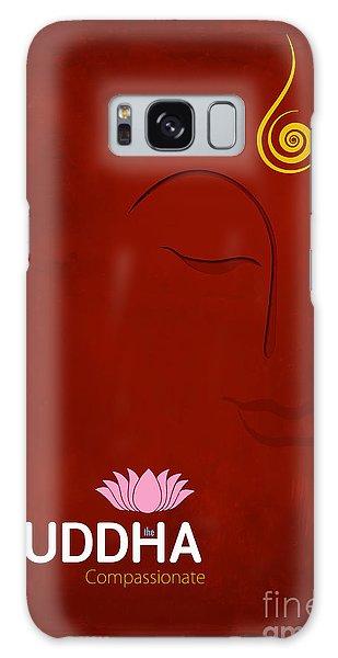 Buddhism Galaxy Case - Buddha The Compassionate by Tim Gainey