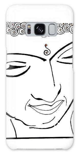 Buddha Xiv Galaxy Case by Kruti Shah
