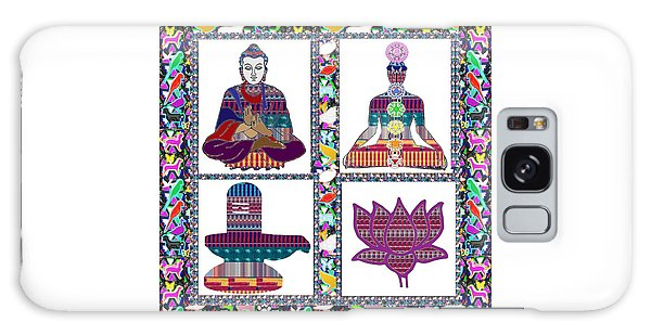 Buddha Yoga Chakra Lotus Shivalinga Meditation Navin Joshi Rights Managed Images Graphic Design Is A Galaxy Case