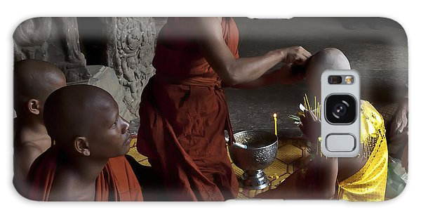 Buddhist Initiation Photograph By Jo Ann Tomaselli Galaxy Case