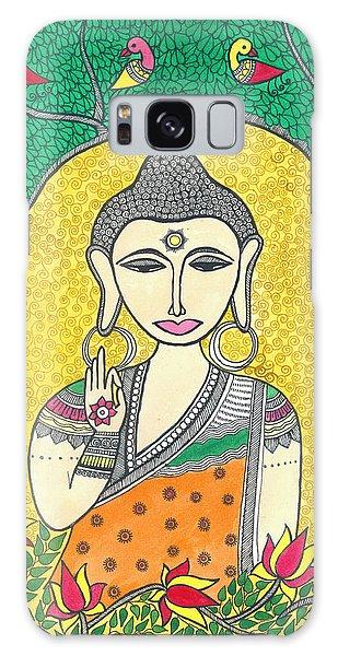 Madhubani Galaxy Case - Budhha by Shishu Suman