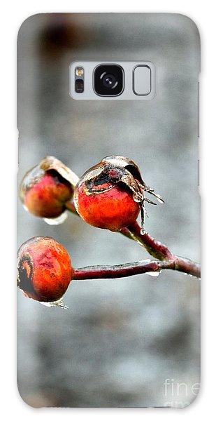 Buds On Ice Galaxy Case by Bonnie Myszka