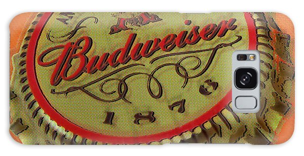 Budweiser Cap Galaxy Case by Tony Rubino