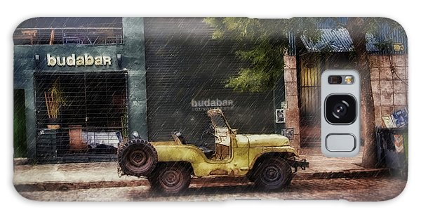 Buenos Aires Jeep Under The Rain Galaxy Case