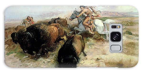 Buffalo Galaxy Case - Buffalo Hunt by Charles Marion Russell
