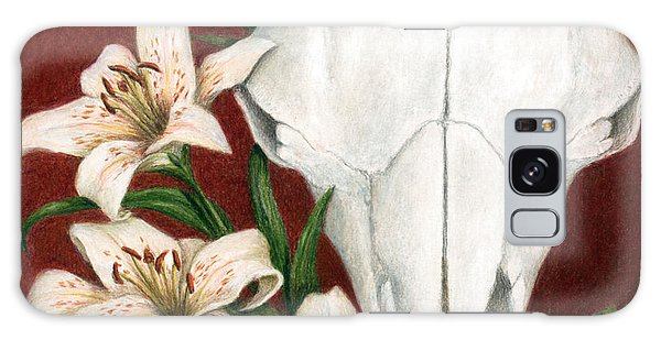 Buffalo Lilies Galaxy Case by Pat Erickson
