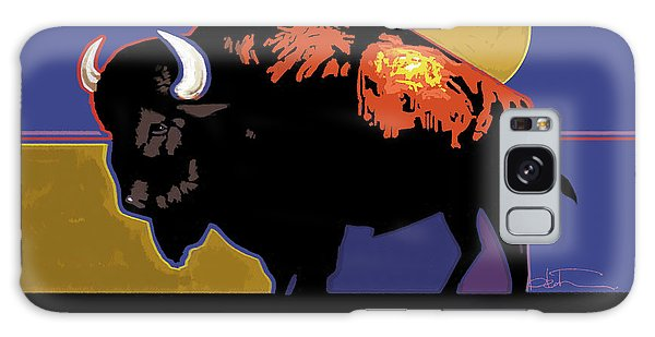 Buffalo Moon Galaxy Case