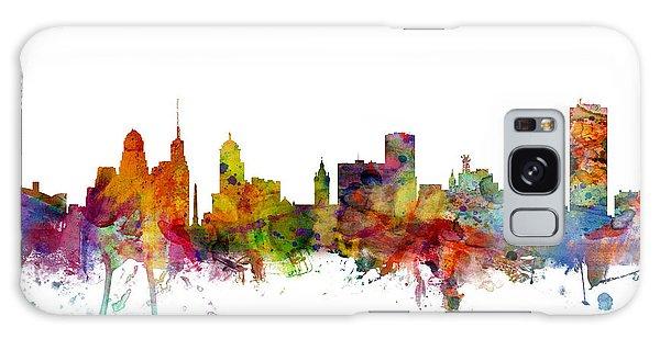 Usa Galaxy Case - Buffalo New York Skyline by Michael Tompsett
