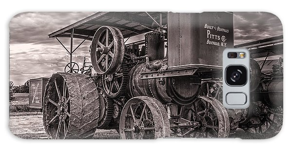 Buffalo Pitts Steam Traction Engine Galaxy Case by Shelly Gunderson