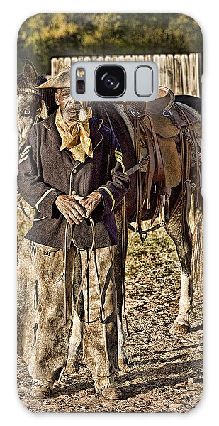 Buffalo Soldier Galaxy Case