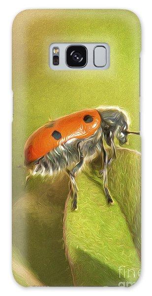 Bug On Leave Galaxy Case