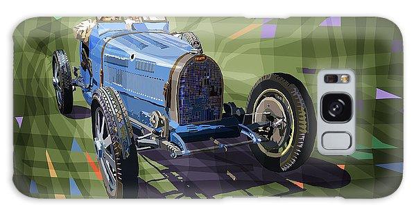 Mixed-media Galaxy Case - Bugatti Type 35 by Yuriy Shevchuk