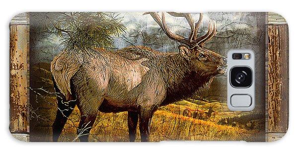 Antlers Galaxy Case - Bugling Elk by JQ Licensing