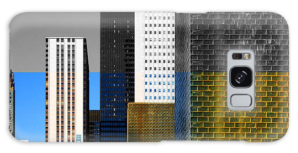 Building Blocks Cityscape Galaxy Case