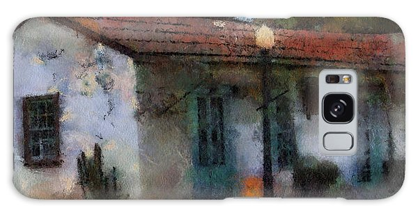 Building In San Juan Bautista Galaxy Case by Barbara R MacPhail