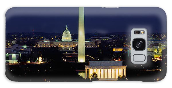 Buildings Lit Up At Night, Washington Galaxy Case