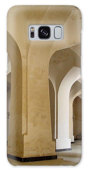 Bukhara Great Mosque Pillars Galaxy Case