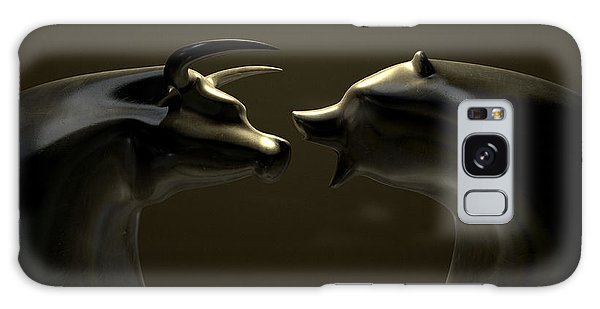 Bull And Bear Market Trend Bronze Castings Galaxy Case