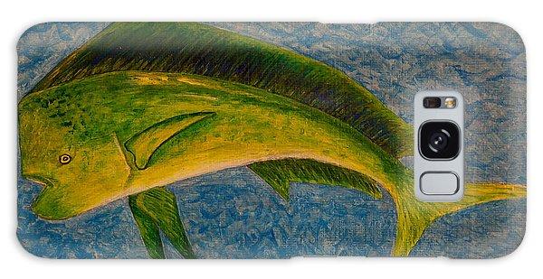 Bull Dolphin Mahimahi Fish Galaxy Case