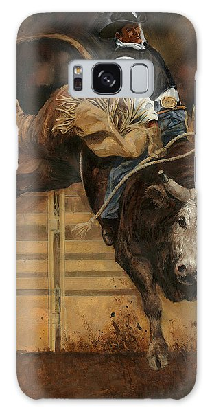 Bull Riding 1 Galaxy S8 Case