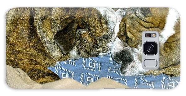 Bulldog Love Forever  Galaxy Case by Lehua Pekelo-Stearns