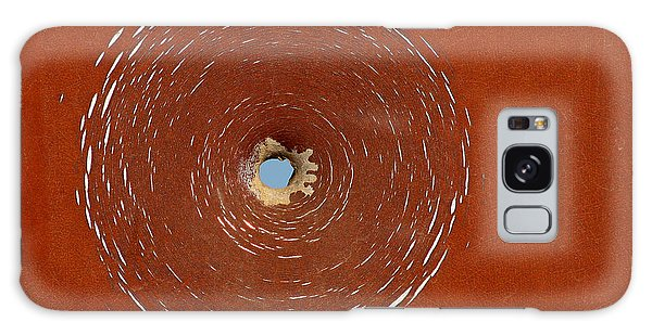 Bullet Hole Patterns Galaxy Case by Art Block Collections
