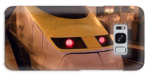 Bullet Train Art Galaxy Case