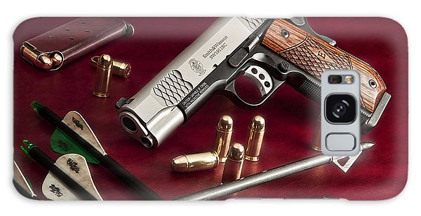 Powerful Galaxy Case - Bullets And Broadheads by Tom Mc Nemar