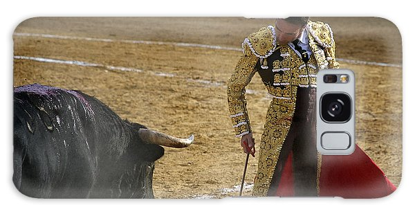 Bullfighter Manuel Ponce Performing During A Corrida In The Bullring Galaxy Case