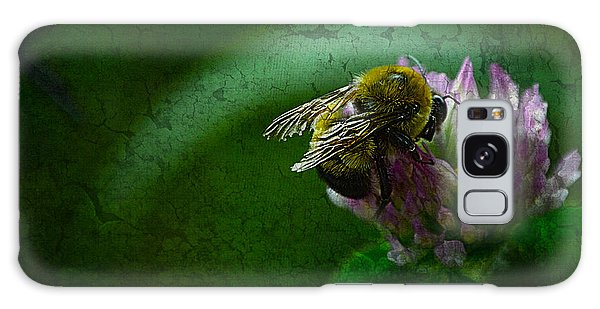 Bumble Bee Tattered Wings Art 2 Galaxy Case