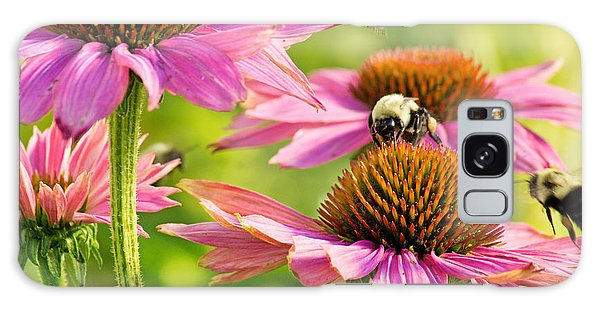 Bumbling Bees Galaxy Case by Bill Pevlor