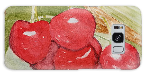 Bunch Of Red Cherries Galaxy Case