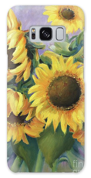 Bunch Of Sunflowers Galaxy Case