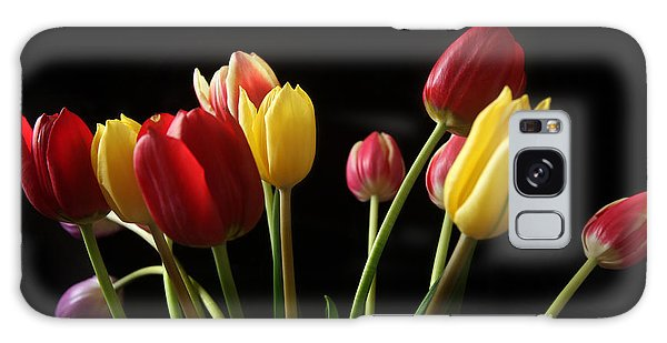Bunch Of Tulips Galaxy Case